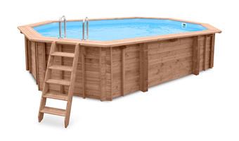 Basen przydomowe baseny stalowe oferta elno - Gartenpool holz ...